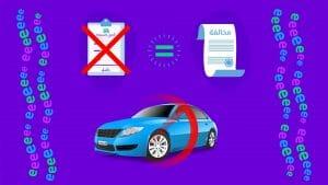 عدم تأمينك لمركبتك يؤدي إلى مخالفة مرورية-wakeel.com
