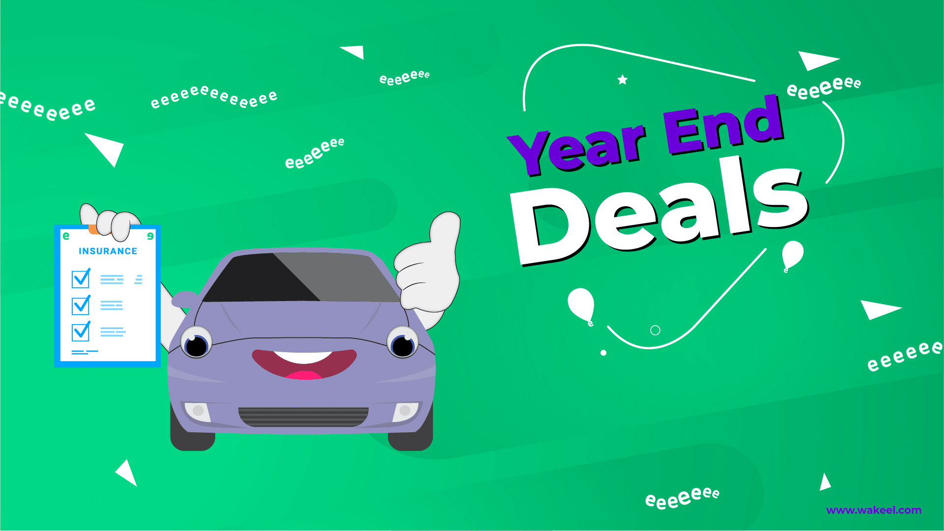End of year car insurance deals