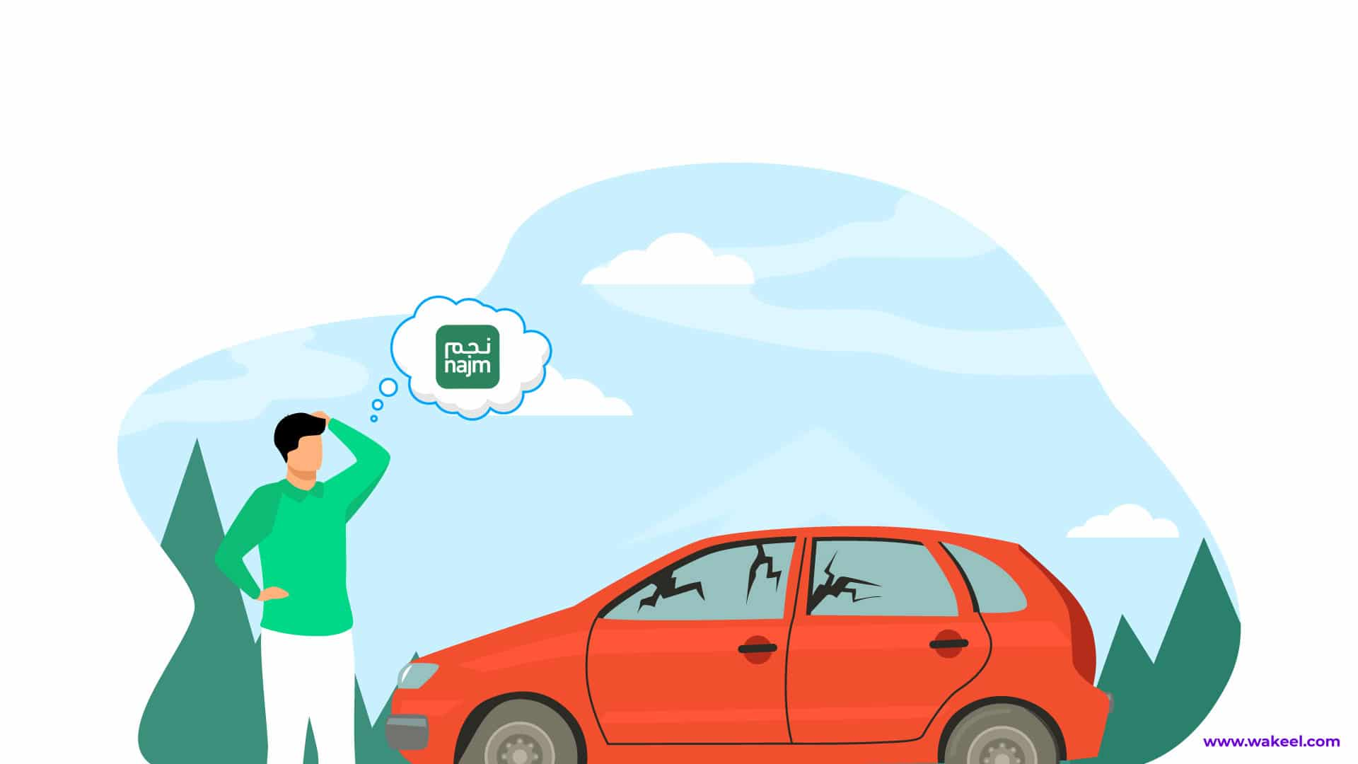 What to do after a car accident in Saudi Arabia