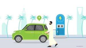 السيارات الكهربائية في السعودية