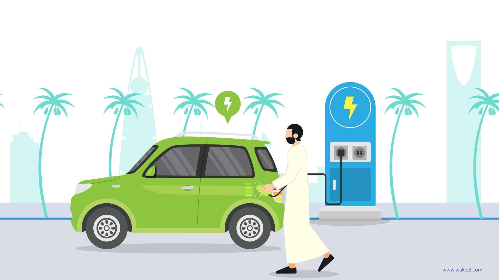 السعودية تستعد لقيادة السيارات الكهربائية في غضون شهرين