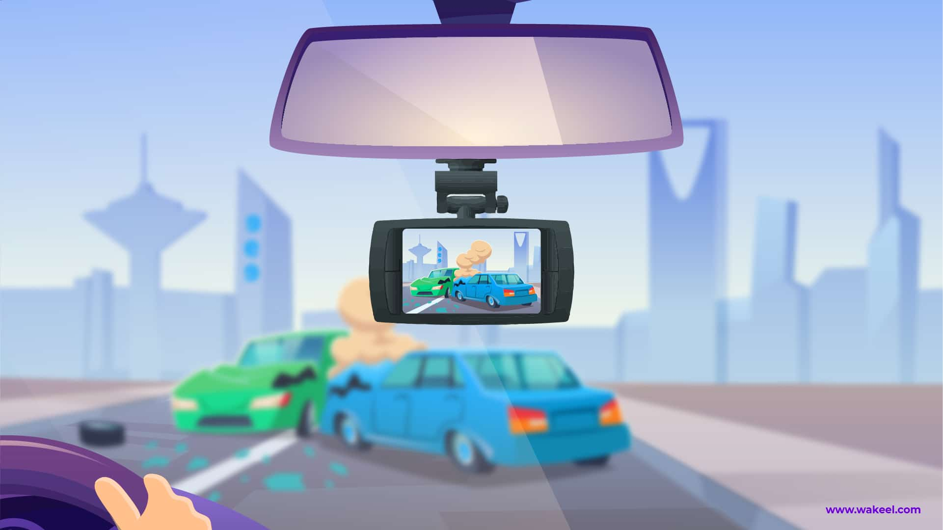 Securing Cars By Using a Dashcam in Saudi